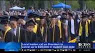 Lawmakers Push Biden To Nix $50,000 In Student Debt