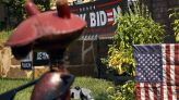 Explicit anti-Biden signs in front of man's home irk Grapevine neighborhood