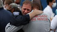 Firefighters return home a month after Surfside collapse