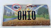 俄亥俄州公布新車牌 被抓包弄錯「萊特飛行器」頭尾