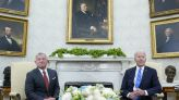 Biden calls Jordan king a loyal ally in 'tough neighborhood'