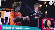 The Chicago Bears already won the NFL draft by drafting Justin Fields