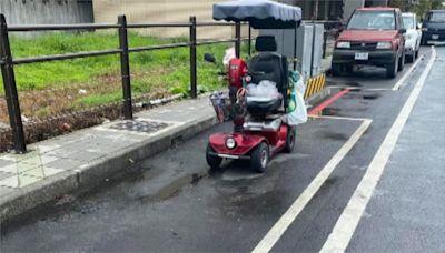 非屬交通工具! 電動代步車停在停車格違法