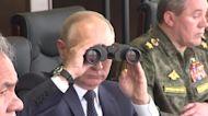 Putin oversees war games that worry neighbors