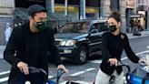 Katie Holmes & Her Boyfriend Go Biking in NYC While Wearing Celebs' Favorite Mask!