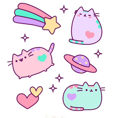 kitty cat Illustration cute kawaii pusheen transparent emoji ...