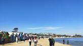 澳洲 墨爾本|彩虹小屋 Brighton Bathing Boxes & Mornington Beach