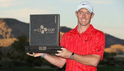 Rory McIlroy roars past Rickie Fowler, holds off Collin Morikawa and wins CJ Cup