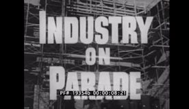INDUSTRY ON PARADE ALLISON JET ENGINES SPARKLERS HARRY WINSTON DIAMONDS LEVITTOWN HOMES 19354b