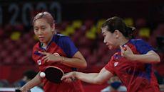 乒乓球女團