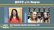8th grade student at Berea Community High School creates neonatal app