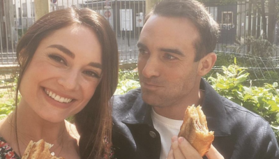 'Her Pen Pal' Star Joshua Sasse Shared Epic Behind-the-Scenes Photos from Hallmark's New Movie