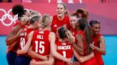 Olympics-Volleyball-U.S. beat Italy in five-set battle, hosts Japan out