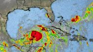 Hurricane warnings in effect along Gulf Coast as Zeta nears