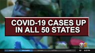 COVID Cases On Rise Around The Country