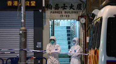 新冠肺炎.直播|佐敦伯嘉士大廈有居民染變種病毒 深夜封區檢測