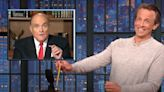Seth Meyers Goes All In With Savage 10-Minute Roast Of Rudy Giuliani
