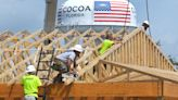 Trusses go up on outdoor area at former Norman's in Cocoa; Murdock's to close this month