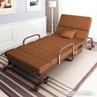 (免運)摺疊床 單人摺疊床1.2米家用辦公室午休簡易午睡床雙人行軍陪護便攜躺椅