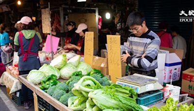 「菜比肉貴」 大陸蔬菜價格高漲