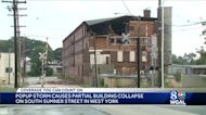 Pop-up storm to blame for partial building collapse in West York, borough manager says