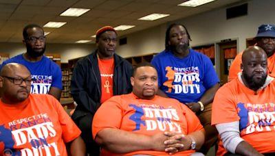 Dads help curb violence at Louisiana high school