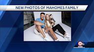 'Hello world!' Patrick Mahomes, Brittany Matthews share new family photos introducing world to Sterling