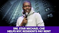 SNL star Michael Che is helping NYC residents pay rent
