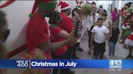 Sacramento Boy Gets His Wish For A Christmas In July