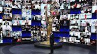 Watch host Jimmy Kimmel crack jokes as he opens the 'PandEmmys'