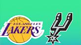 Game stream: Los Angeles Lakers vs. San Antonio Spurs