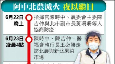 陳時中、王必勝凌晨走訪雙北果菜市場/「北農有救了」 承銷人盼中央快接管