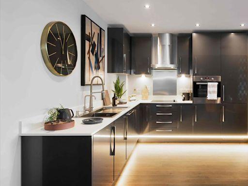 【裝潢靈感】時髦簡練的摩登住宅,不滿600呎也能擁有富饒層次