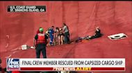 Final crewmember rescued from capsized cargo ship
