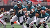 Eagles' Week 1 win highlights Jalen Hurts' skills and Matt Ryan's struggles