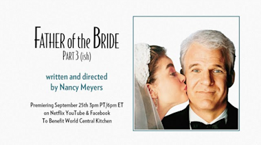 The 'Father of the Bride' cast reunited for the Zoom wedding of the year