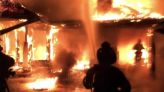 Fire Rips Through Mysterious Google Mansion