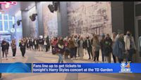 Harry Styles Fans Wait In Line For Hours To Snag Tickets To TD Garden Concert