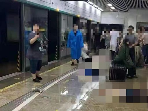 鄭州爆洪災!地鐵擋水牆被沖破 慘釀12死「月台躺滿屍體」