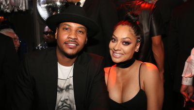 Carmelo Anthony's wife La La files for divorce after 11 years of marriage