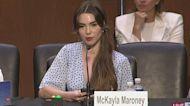 Gymnast McKayla Maroney Tells Senate Committee FBI Mishandled Her Reports of Sexual Abuse