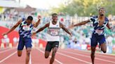 Trayvon Bromell wins 100m; Keni Harrison finds redemption and trip to Tokyo