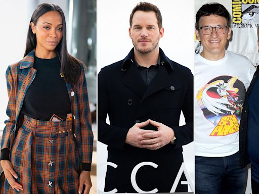 Zoë Saldana, Russo Brothers Support Chris Pratt After He's Labeled 'Worst Hollywood Chris'