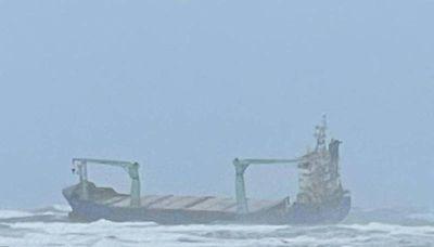 機械故障失去動力 巴拿馬貨輪擱淺澎湖吉貝14人待援