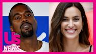 Kanye West Spotted With Friends After Irina Shayk Romance Cools Off