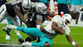 Dolphins give up 25 unanswered points in 31-28 overtime loss to Raiders