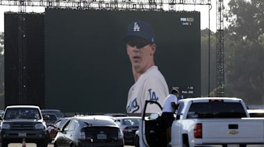 Dodgers drive-in: Watch the World Series on giant screens at Dodger Stadium