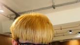 染金髮嚇壞滴妹!阿滴狂笑:我變壞滴啊
