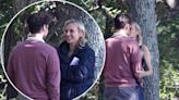 Diane Kruger, Ray Nicholson kiss on the set of new thriller, 'Out of the Blue'