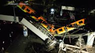 At least 23 dead after overpass collapse in Mexico City